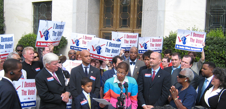 Eleanor Holmes Norton - I Demand the Vote