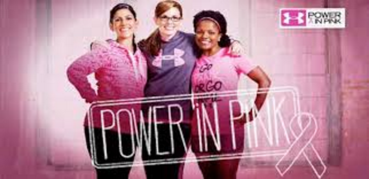 Under Armour Power In Pink