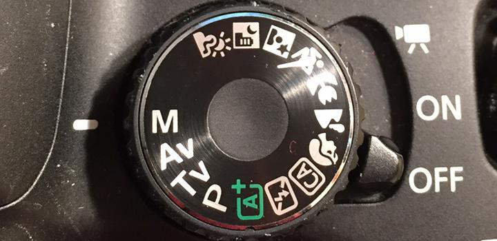 control dial for DSLR camera