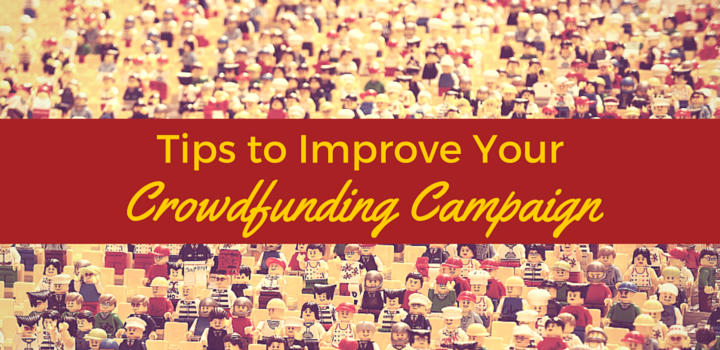 Tips to Improve Your Crowdfunding Campaign over image of Lego people