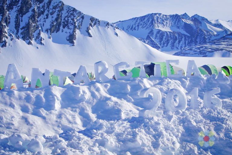 Antarctica Inland Landscape