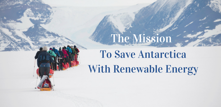 Saving antarctica with Renewable Energy Technology
