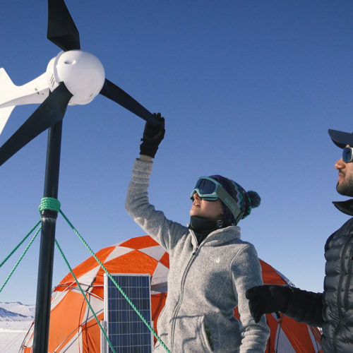 TESTING RENEWABLE ENERGY IN ANTARCTICA